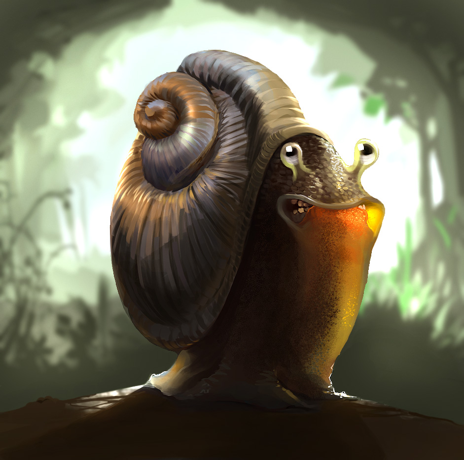 Stylized Animal Challenge - May 2007 - Snail - VOTING!!